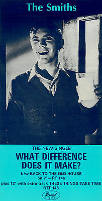 The Smiths What Difference Does It Make  Laminated A4 Mini Poster