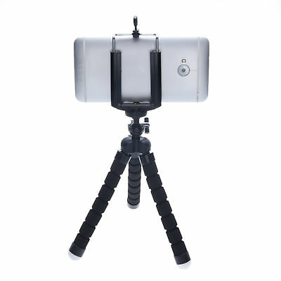 Mini Octopus Tripod Stand Mount Compact Phone Holder for iPhone Samsung