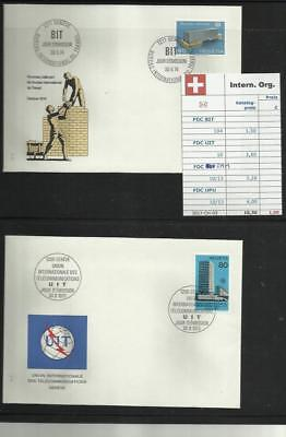 Schweiz, Internationale  Organisationen, Lot FDC