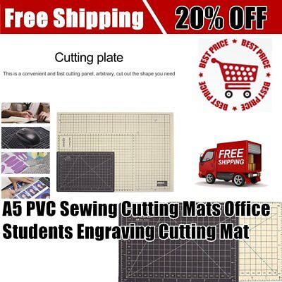 Double Color A5 PVC Sewing Cutting Mats Office Students Engraving Cutting Mat CO
