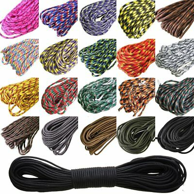 7 Strand Core100FT 550 Paracord Parachute Cord Lanyard Mil Spec Type III A2