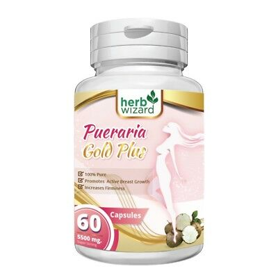 1 x  BOTTLE PUERARIA MIRIFICA 5500mg BUST FIRMING BREAST ENLARGEMENT CAPSULES