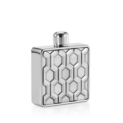 Royal Selangor Pewter Hexagon Hip Flask