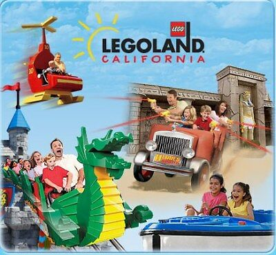 Legoland California Tickets $69 + 2Nd Day Free  A Promo Savings Discount Tool