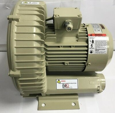 Vacuum Pump Electric Motor Zepher 1.5kW 2850RPM Single Phase Side Channel Blower