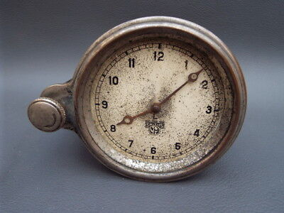 Vintage classic car Smiths dashboard clock - L - for repair parts or spares
