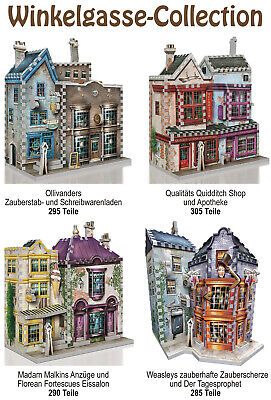 3D Puzzle - Harry Potter - Winkelgasse Collection, 1175 Teile, Rowling, Wrebbit