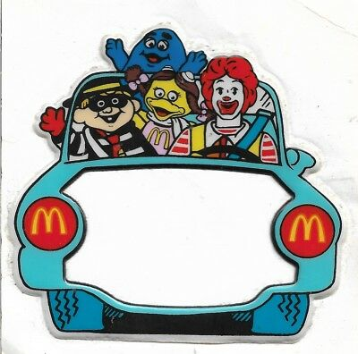 Vintage McDonald's Puffy Sticker - Mint! 10cm x 9.5cm