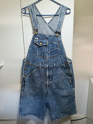 1980s/1990s Guess overall shorts (size small)