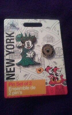 Minnie Mouse Statue of Liberty Pin Set (NYC Exclusive)