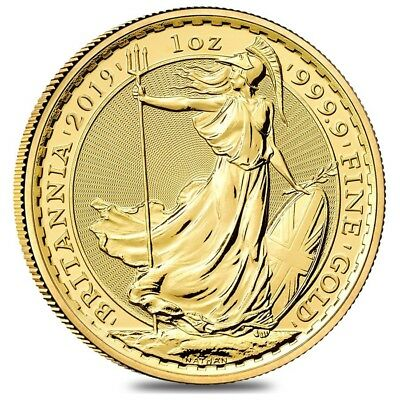 2019 Great Britain 1 oz Gold Britannia Coin .9999 Fine BU