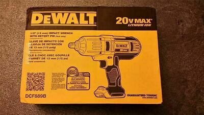 DEWALT 20V Max Lion 1/2 in. High Torque Impact Wrench (Bare Tool Only) DCF889B