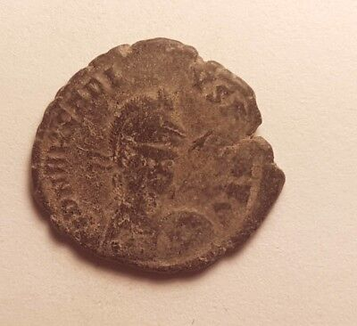 Ancient Coin 4Th-5Th Century Late Roman Byzantine Coin Of Arcadius    #okt64