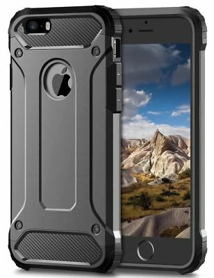 Bumper Shockproof Rugged Case Hybrid Armor for Apple iPhone 10 X Xs 8 7 6 5 plus