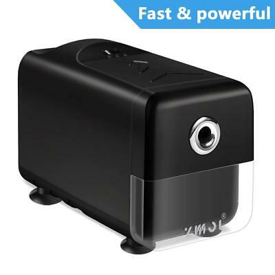 Electric Pencil Sharpener,Heavy Duty Helical Blade and Auto-Stop Feature,Electri