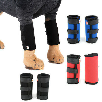 Dog Canine Front Leg Wrap Protective Brace Pet Compression Sleeve Protector