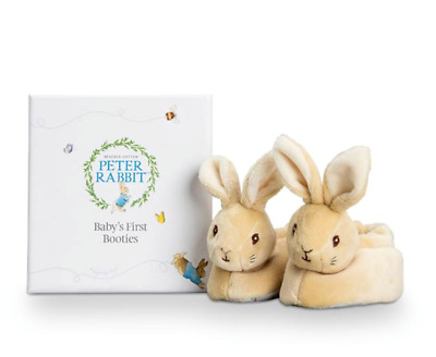 Peter Rabbit First Booties Beatrix Potter Baby Boxed Gift Set   FAST DISPATCH!