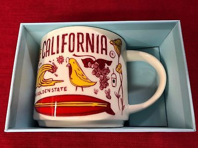 Starbucks 2018 California Been There Series Mug With Box State Cup New