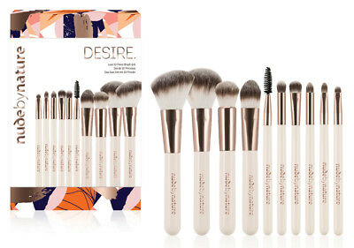 Nude By Nature Christmas 2018 Desire 10 Piece Brush Gift Set