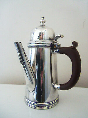 Fine Old English Barker Bros. (Ellis-Barker)  Silver Light House  Coffee Pot