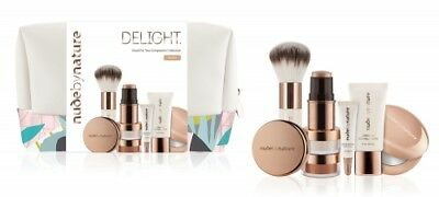 Nude By Nature Christmas 2018 Delight Medium Gift Set