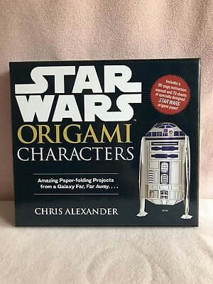~ Star Wars ~ Origami Characters by Chris Alexander (Disney) NEW!