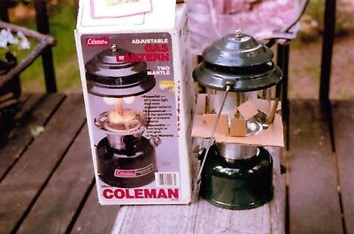 Coleman Model 288A700 Unused Display Lantern With Box, Date Stamp Of 12/88