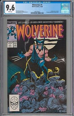 Wolverine #1 CGC 9.6 NM+ 1st Wolverine as Patch WHITE PAGES