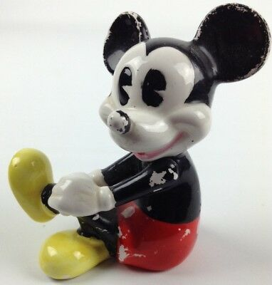 Vintage Disney Mickey Mouse Figurine Figure Collectible