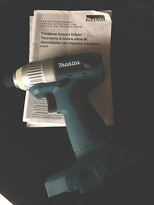 MAKITA CORDLESS IMPACT DRIVER MODEL 6936FD Never Used Tool Only D.C. 18 V