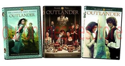 Outlander Complete TV Series All Seasons 1-3 DVD Set Collection Episode Show Box