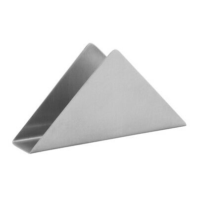 Napkin Holder Stainless Steel Triangular Shape Brand-New Commercial-Quality