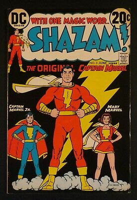 Vintage 1973 Shazam 7 Dc Comics Original Captain Marvel