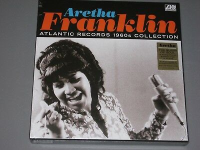 ARETHA FRANKLIN Atlantic Records 1960s Collection 6LP  Box Set New Sealed Vinyl