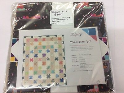 Wall of fame Quilt Kit Tula Pink Spirit Animal Fabric Patchwork Quilting