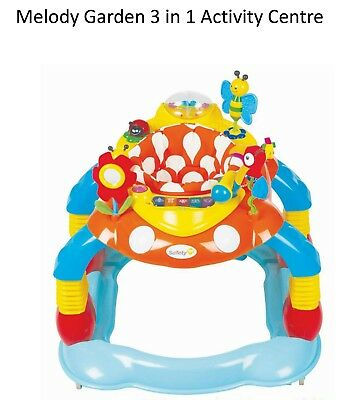Safety 1st  Melody Garden Activity Centre Baby Walker