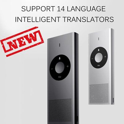 14 Languages Metal Translator 2.4G WIFI Long Standby Time for Travel Study TZ