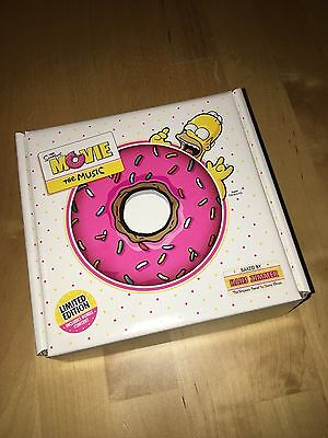 The Simpsons - Der Film - Limited Edition OST Soundtrack Donut Homer Simpson CD