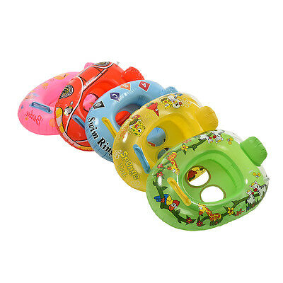 Kids Baby Care Seat Swimming Ring Pool Aid Trainer Beach Float-Inflatable ZB