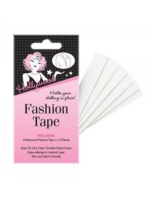 Hollywood Fashion Tape - 12 Pieces
