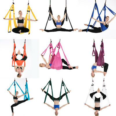 New Aerial Yoga Hammock Swing Inversion Sling Trapeze Flying Antigravity Yoga