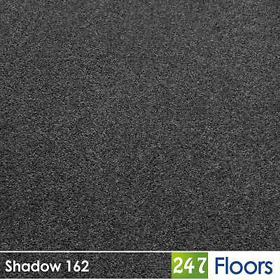 Shadow 162 Dublin Heathers Flecked Feltback Carpet Grey Twist Pile 4m & 5m Wide