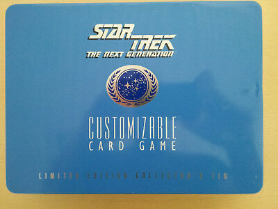 Star Trek CCG Limited Edition Collector's Tin, 1995, Decipher