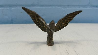Antique Brass Eagle Top Statue For German Regulator Clock