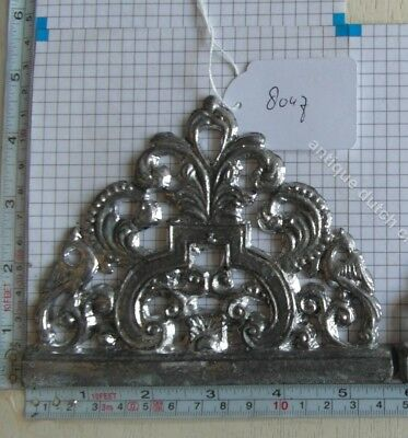 Dutch Friesian Stoel Clock Lead Side Ornament Unfinished 2