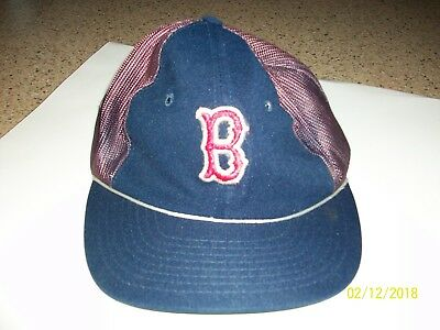 ... vintage boston red sox sports spec. mlb baseball hat cap blue sz  adjustable cbd751caa
