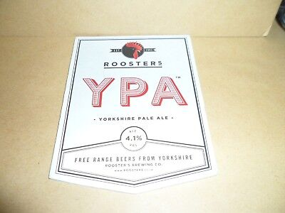 ROOSTERS YPA Ale Beer Pump Clip Pub Bar Collectible man cave