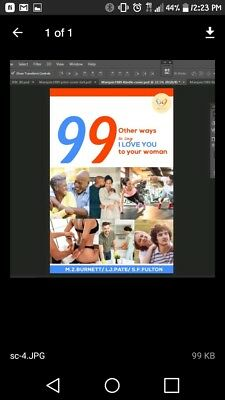 99 Other Ways To Say I Love You To Your Woman Ebook/ Paperback