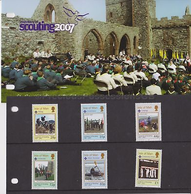 Isle of Man Presentation Pack 2007 Scouting Centenary 10% off 5+