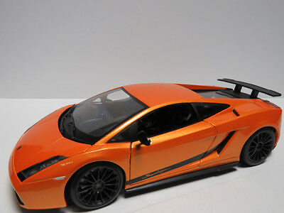 1/24 BBURAGO/BURAGO - LAMBORGHINI GALLARDO SUPERLEGGERA - Orange
